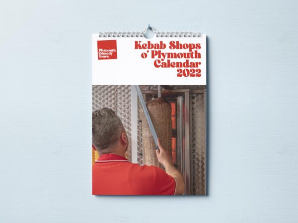 Cover of Kebab Shops o' Plymouth Calendar 2022.